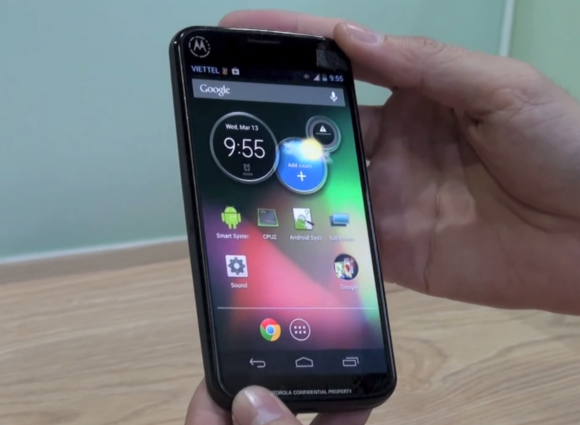 Motorola Moto X with a new extention available