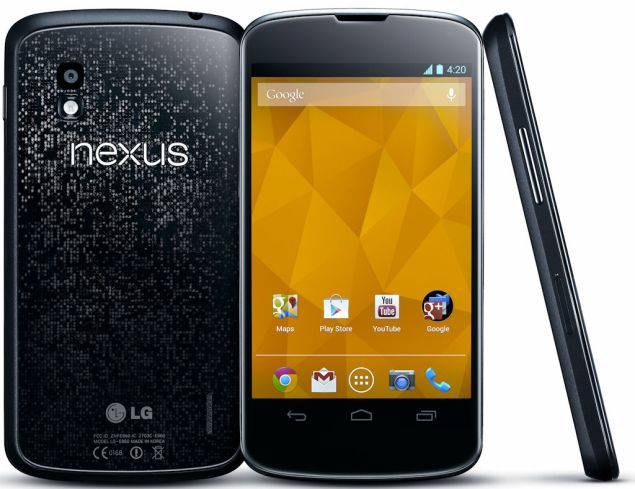 Google Nexus 4 offered at tempting low price at Google Play