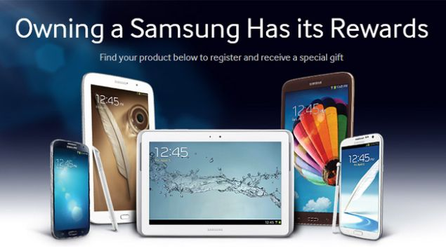 Samsung offers special...