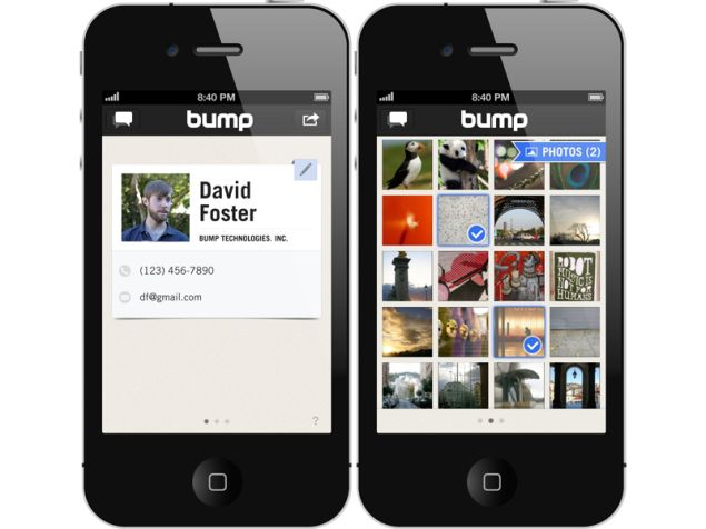 Bump is officially owned by Google, the acquisition is announced