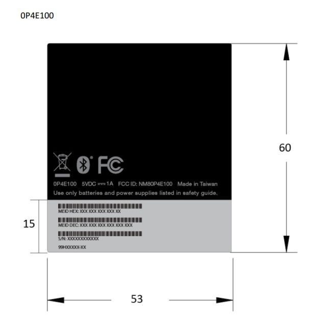 HTC Desire 601 makes an appearance at FCC under codename 0P4E100