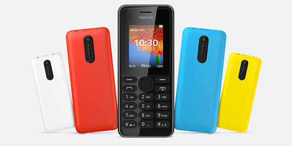 Nokia 108 is the affordable low-end device by Nokia that will arrive for the holiday season