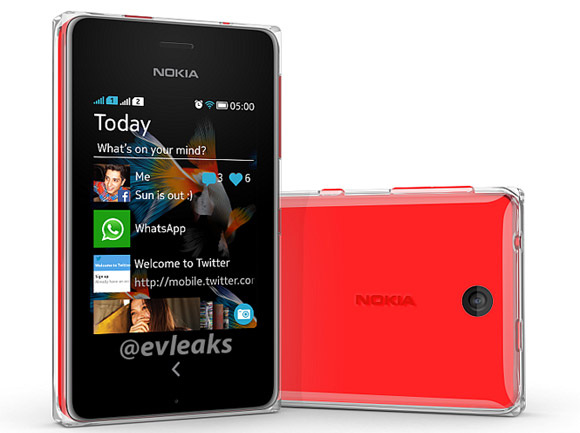 Nokia Asha 500 captured on photo, shows similar to Asha 501 design