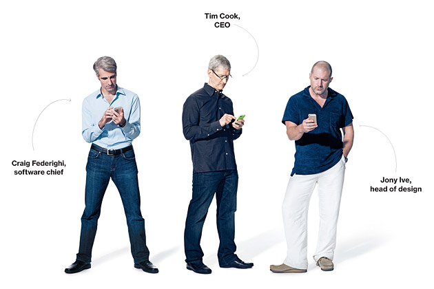 Apple's top three men inteviewed