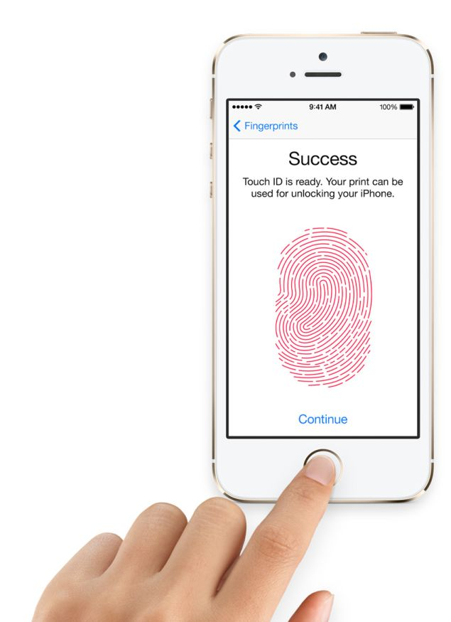 Untypical ways to get through the Touch ID of iPhone 5S