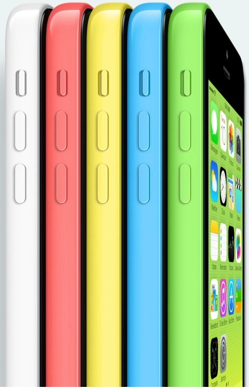 iPhone 5C officially presented during the big event of Apple