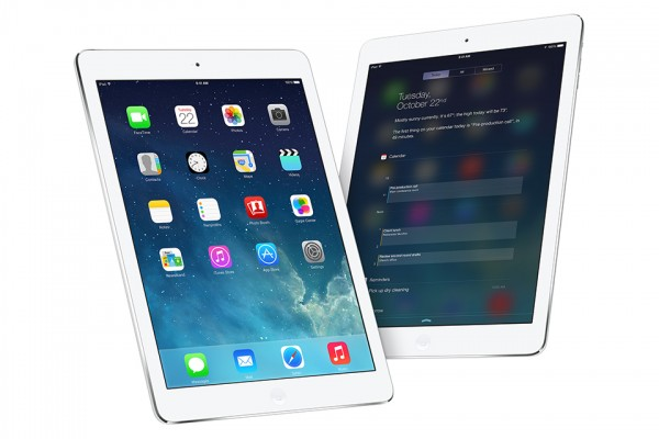 iPad Air is presented in the mobile world