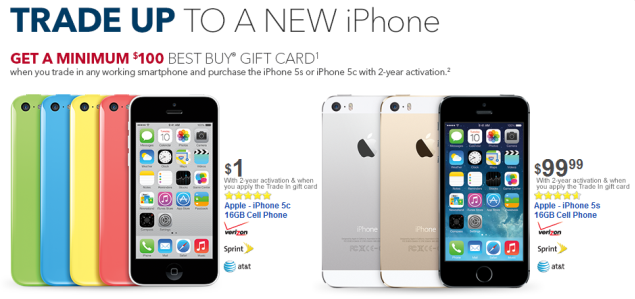 best buy iphone best buy is holding a new trade in promotion for 10238
