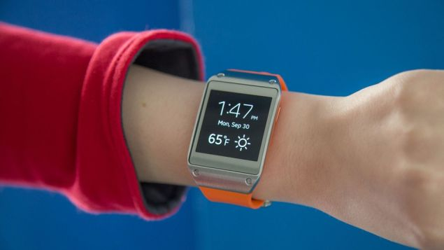 Samsung Galaxy Gear puts the beginning of a new line with smartwatches of the company