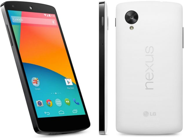 Google Nexus 5 officially unveiled and released the same day