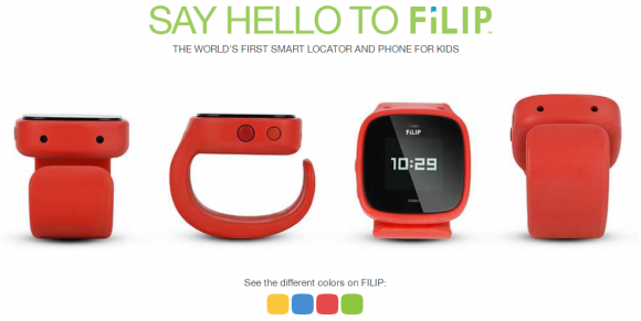 FiLiP smartwatch available in 4 colors