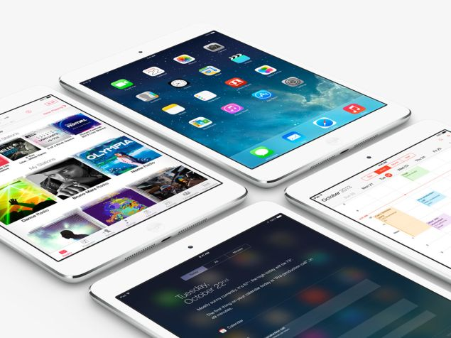 The small-sized tablet iPad mini 2 is powered by iOS 7