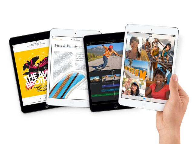 The new iPad mini 2 wil arrive in two color variants - silver and space gray