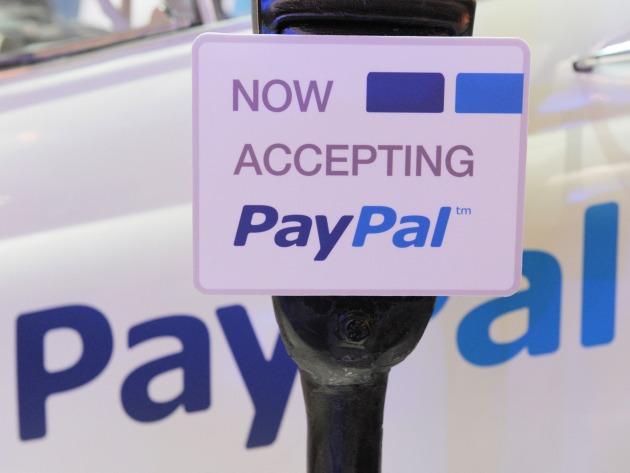 Logo of Paypal