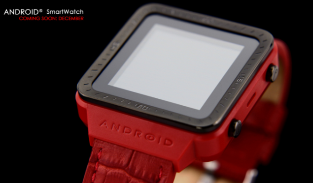 Android Smartwatch will join the mobile arena in December