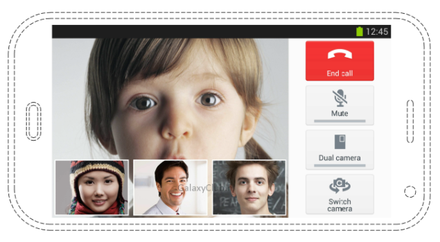 Support for conference video calls is rumored for Galaxy S5