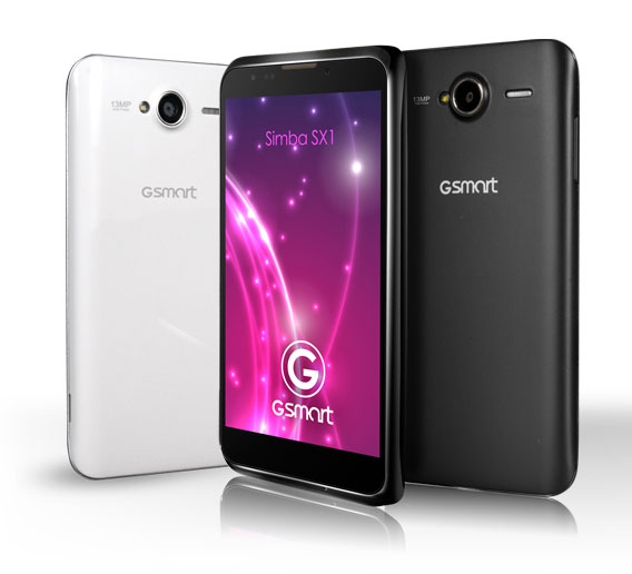 The Android phone Gsmart Simba SX1 by Gigabyte