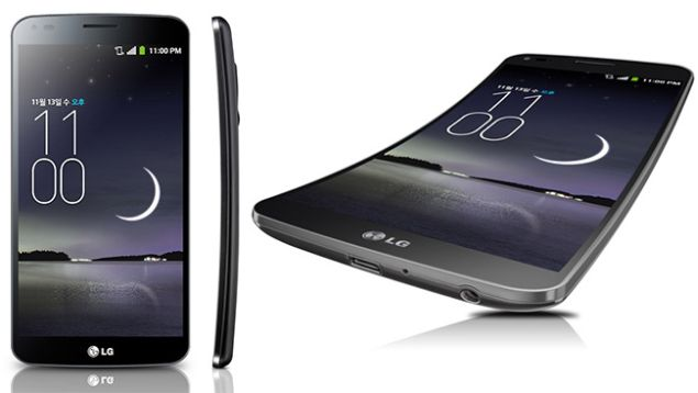 LG G Flex arrives with 6-inches curved OLED screen with 720p and extraordinary body
