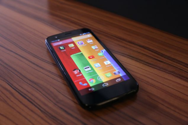 Motorola Moto G is working over Android 4.3 Jelly Bean OS