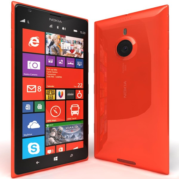 Nokia has unveiled its first high-end Windows Phone – running phablet Nokia Lumia 1520