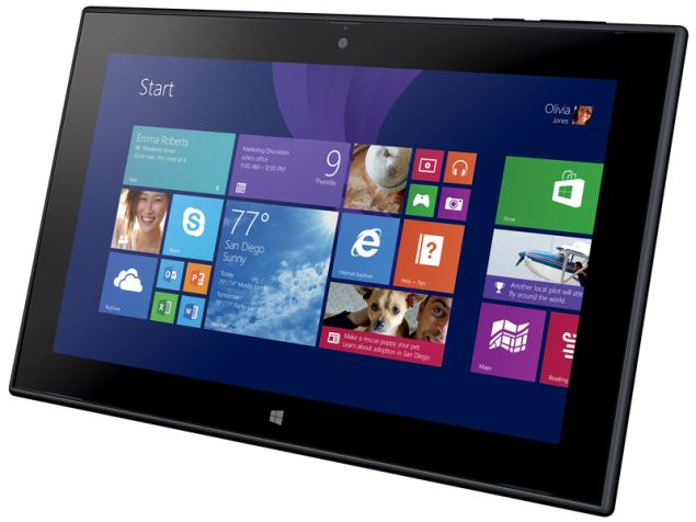 Nokia Lumia 2520 stands out with unique modern design, ergonomic shape and bright 10.1-inches full HD screen