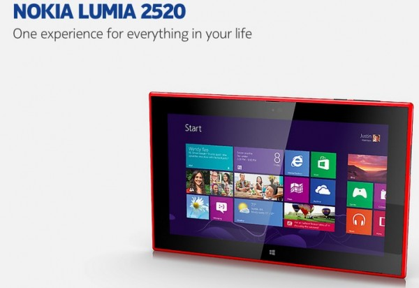 Nokia Lumia 2520 is the first tablet of the company with Windows 8.1 RT and Snapdragon 800 on board