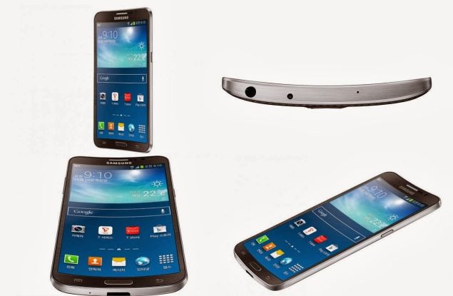 Samsung Galaxy Round sports attractive ordinary design with a curved 5.7-inches OLED display and Snapdragon 800 chip inside the panel