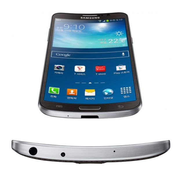 Samsung Galaxy Round arrives with unique design and 1080p HD OLED display