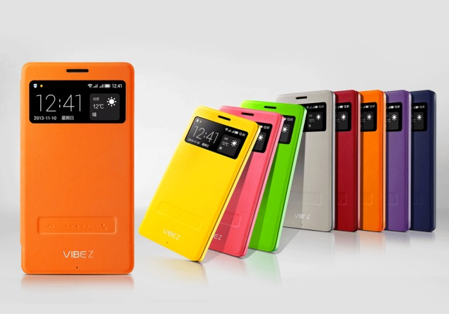 Lenovo Vibe Z arrives with unique flip covers with a lot of capabilities