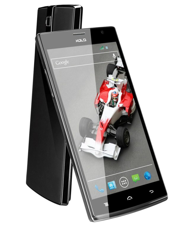 Xolo Q2000 front and back