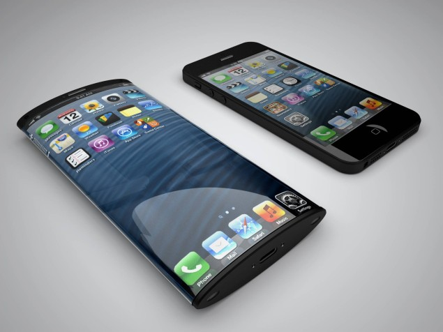 Iphone curved screen concept