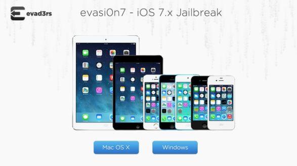 Jail breaking of iOS 7 is now possible with the hack evasi0n7