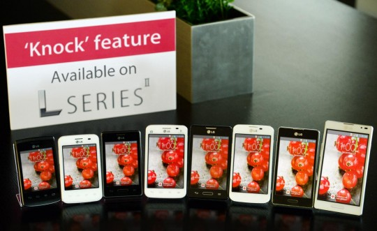 Knock feature will be compatible with mid-rangers of Optimus L series