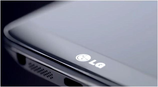 LG G2 LG Logo close