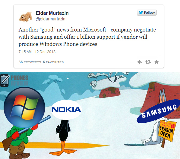 Microsoft to negotiate with Samsung for making Windows ...