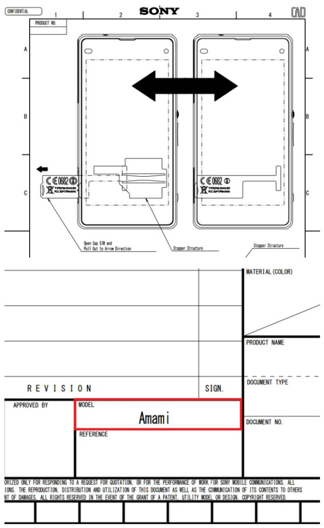 Sony Xperia Z1s gets FCC certification under the codename Sony Amami
