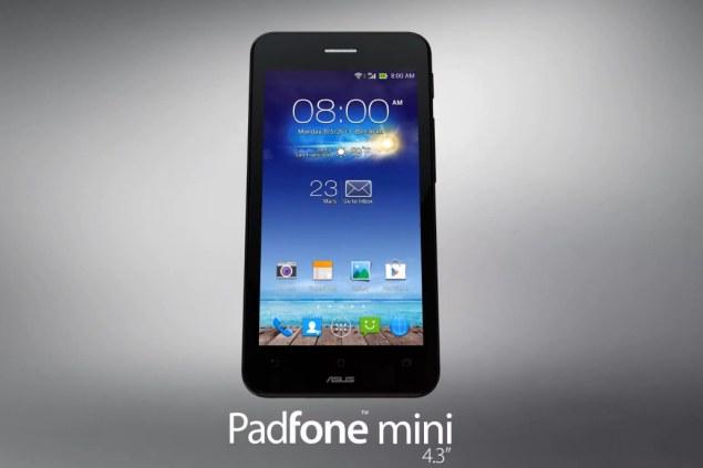 Asus presented PadFone mini in Taiwan: 4.3 inch phone + 10 ...