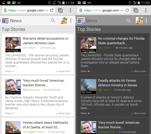 Google News Mobile app for iOS and Android - screens, the changes will bring new vision and customization options