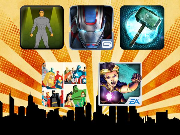 superhero apps