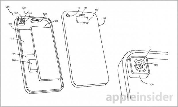 Apple patents for interchangeable lenses
