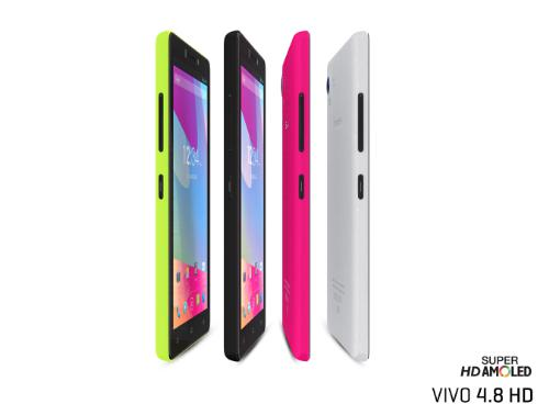BLU VIVO 4.8 HD is unveiled by the company