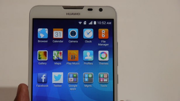 Huawei Ascend Mate 2 4G runs on Android 4.3 with Emotion UI