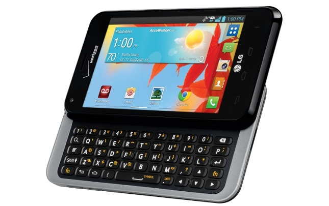 LG Enact - Android device with physical keyboard
