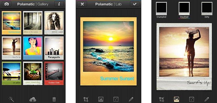 Polamatic Screens for iOS