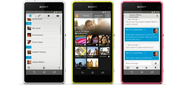 Sony Xperia Z1 Compact is running on Android 4.3 wirh plans to be upgraded with Android 4.4