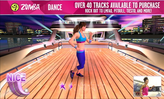 Zumba Dance app for Windows Phone