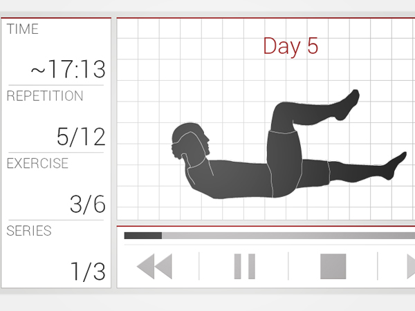 android workout app