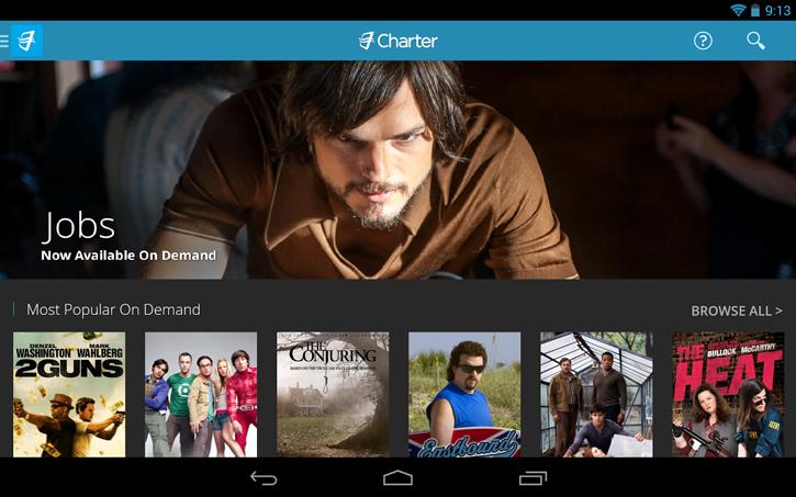 charter tv iOS application