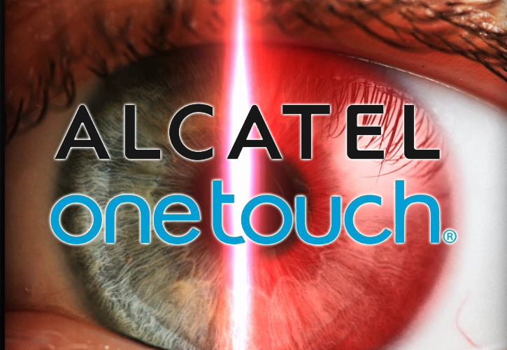 Alcatel OneTouch tablet with iris recognition technology
