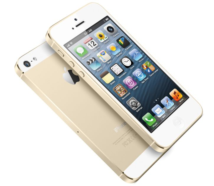 Apple iPhone 5S is armored with 4-inch screen with a resolution of 1136 x 640 pixels